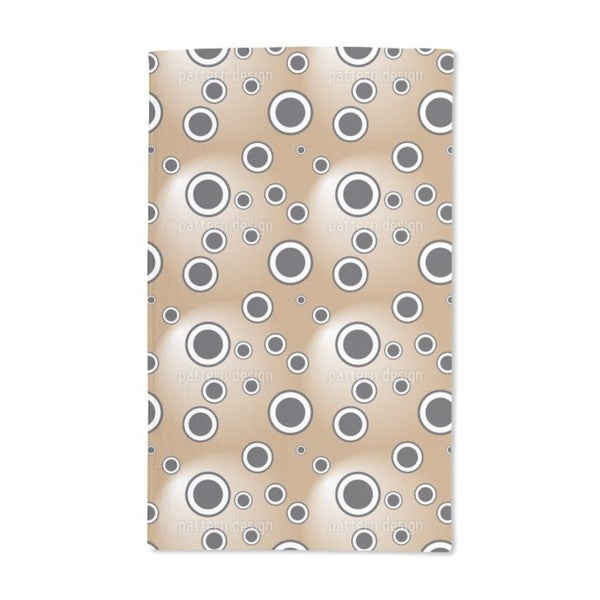Circles in the Spotlight Hand Towel (Set of 2)