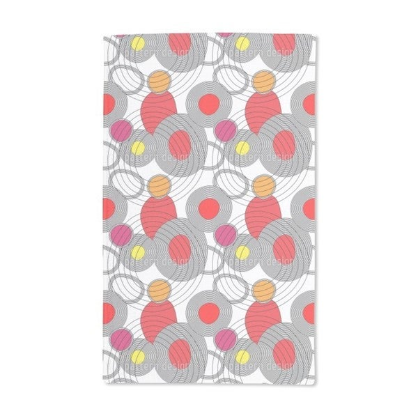 Circle Meeting Hand Towel (Set of 2)