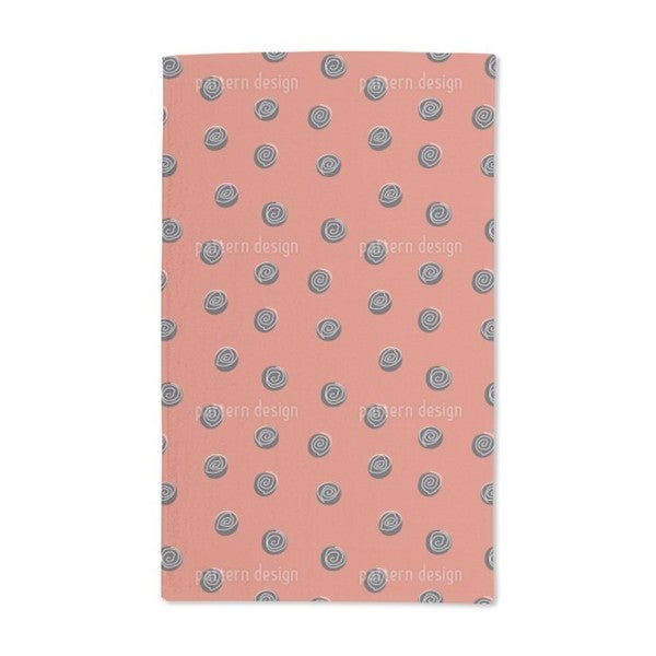Squiggles on Dots Hand Towel (Set of 2)