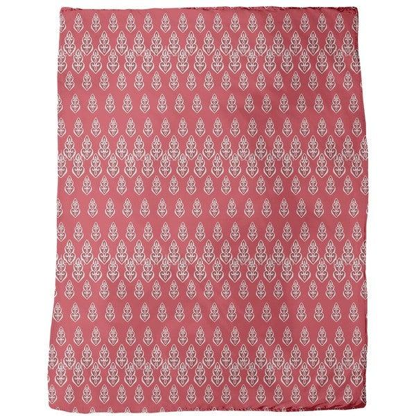 Delilah's Night Red Fleece Blanket
