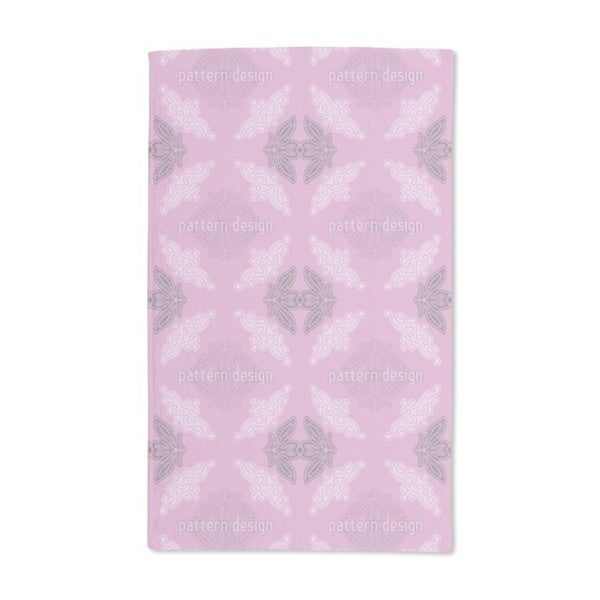 Lacy Ida Violet Hand Towel (Set of 2)