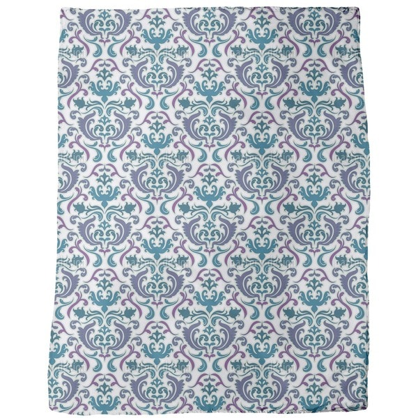 Bon Apart Blue Fleece Blanket