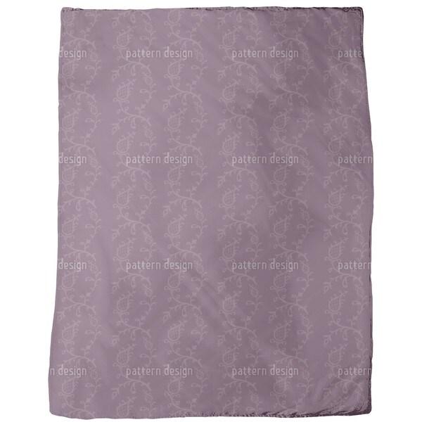 Cinderella Aubergina Fleece Blanket