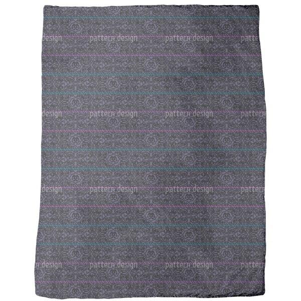 Tiziano Violet Fleece Blanket