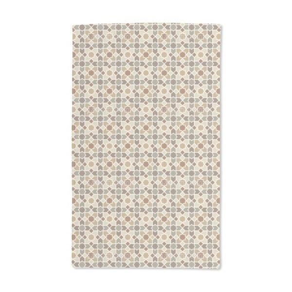 Morocco Brown Hand Towel (Set of 2)