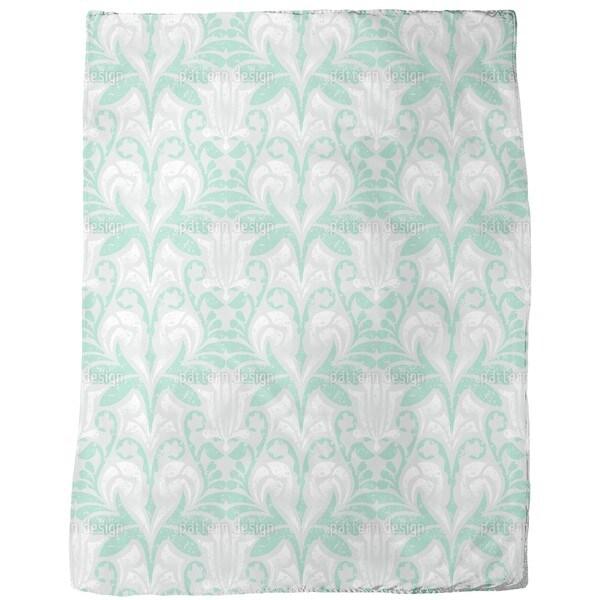 Damasko Green Fleece Blanket