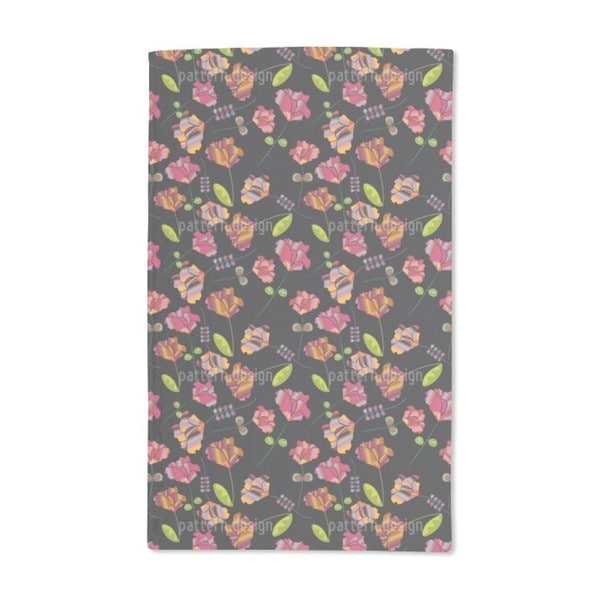 Flowers From Peru Hand Towel (Set of 2)