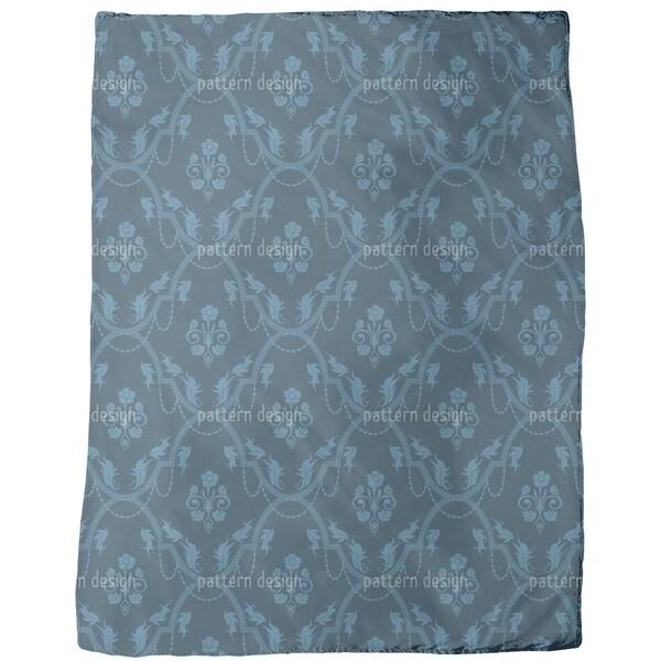 Rocko Azur Fleece Blanket