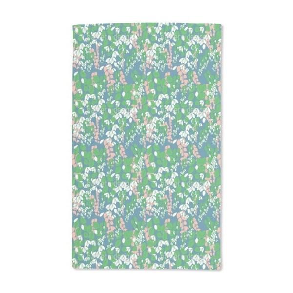 Bouganvillea Blue Hand Towel (Set of 2)