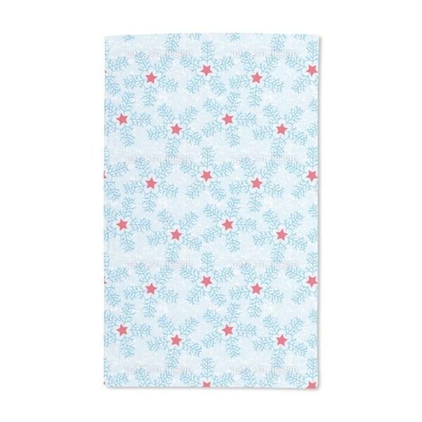 Snowflakes Hand Towel (Set of 2)