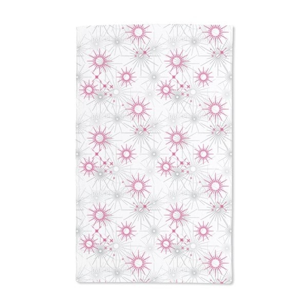 Star Candle Hand Towel (Set of 2)