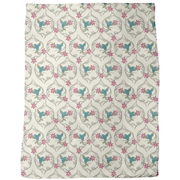 Kolibri Dream Fleece Blanket
