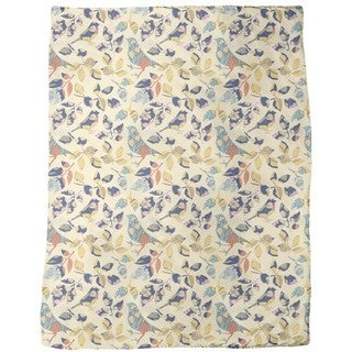 Patch Piep Fleece Blanket