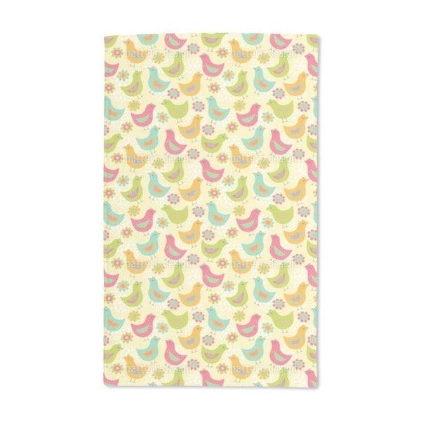The Happy Chicken Hand Towel (Set of 2)