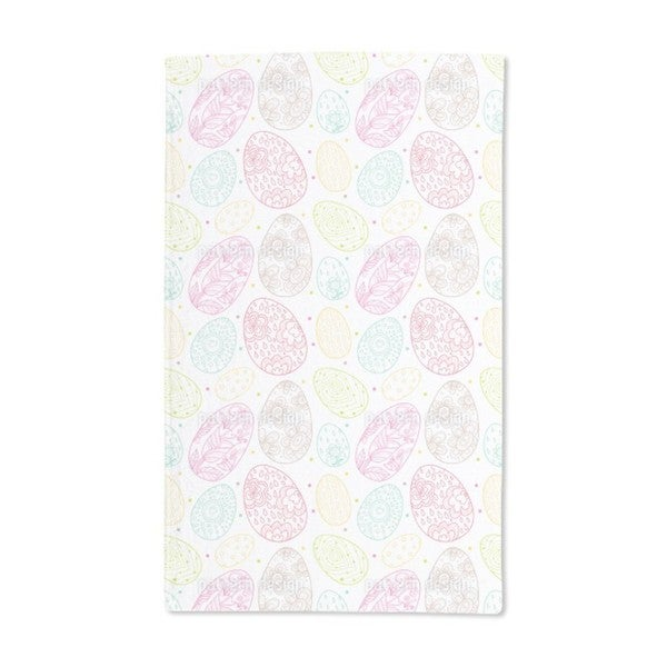 Delicate Easter Eggs Hand Towel (Set of 2)