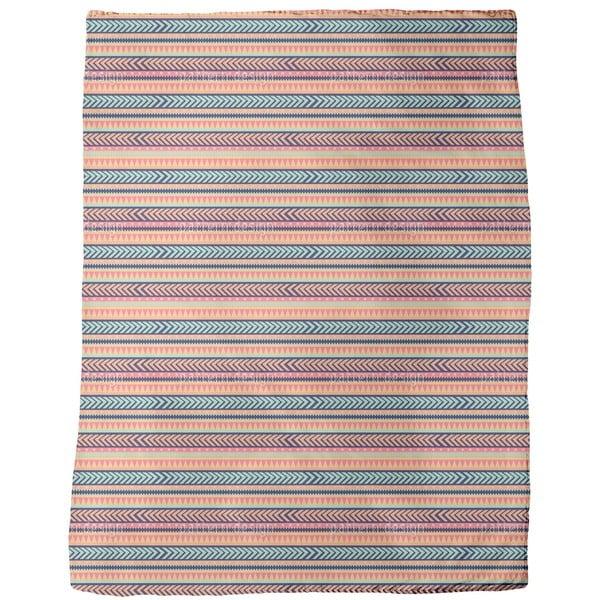 Tribal Mix Fleece Blanket