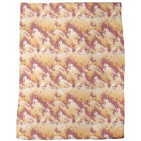 Lava Land Fleece Blanket