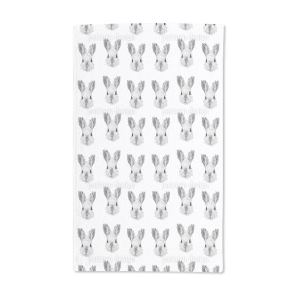 Bunny Most Wanted Hand Towel (Set of 2)
