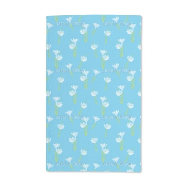 Spring Crocus Hand Towel (Set of 2)