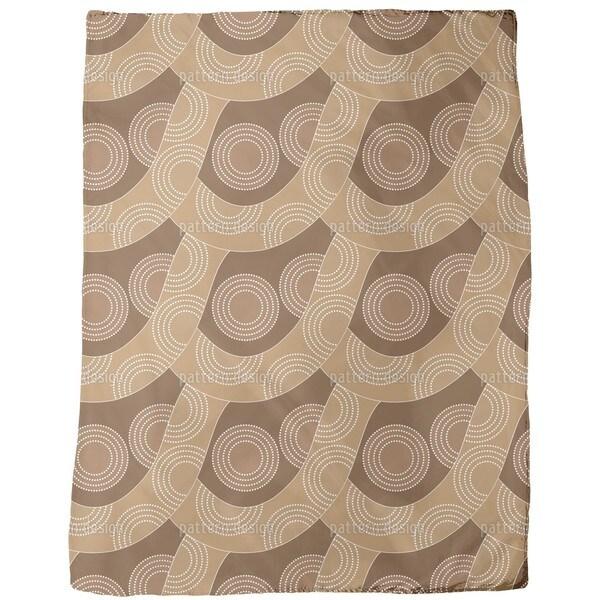 Slackline Aboriginal Fleece Blanket