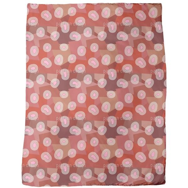 Pink Islands Fleece Blanket