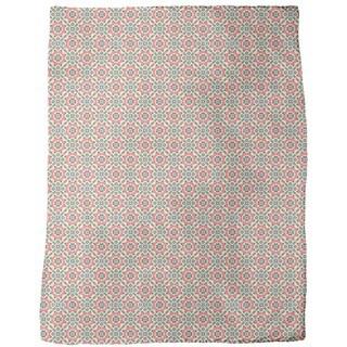 Floralis Retro Fleece Blanket