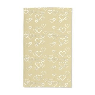 Heart of Gold Hand Towel (Set of 2)