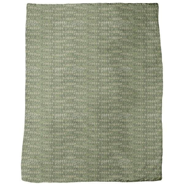 Reptilio Green Fleece Blanket