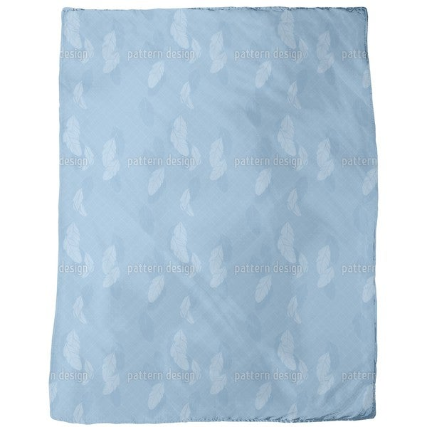 Gentle Feathers Fleece Blanket