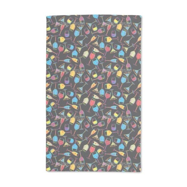 Party Drinks Hand Towel (Set of 2)