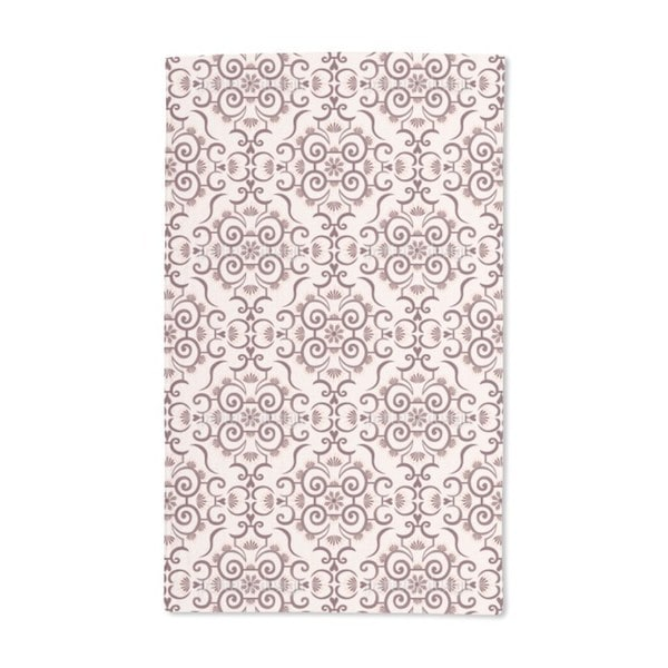 Lace Idol Brown Hand Towel (Set of 2)