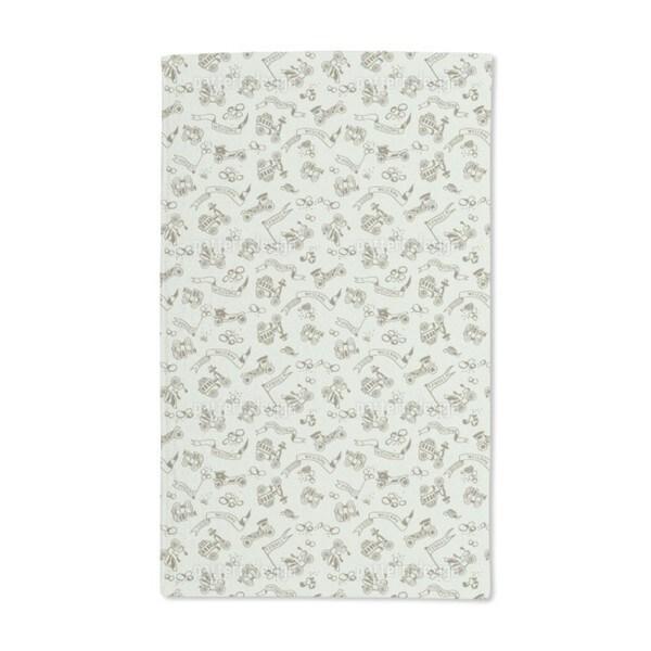 Good Oldies Hand Towel (Set of 2)