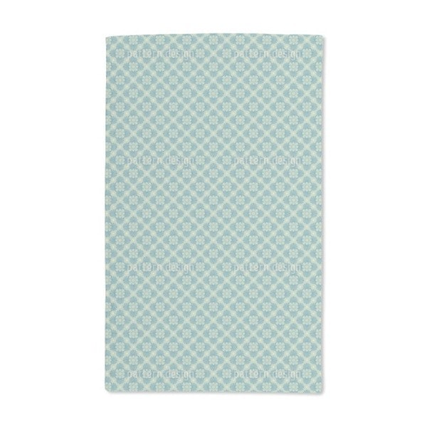 Bloom Green Hand Towel (Set of 2)