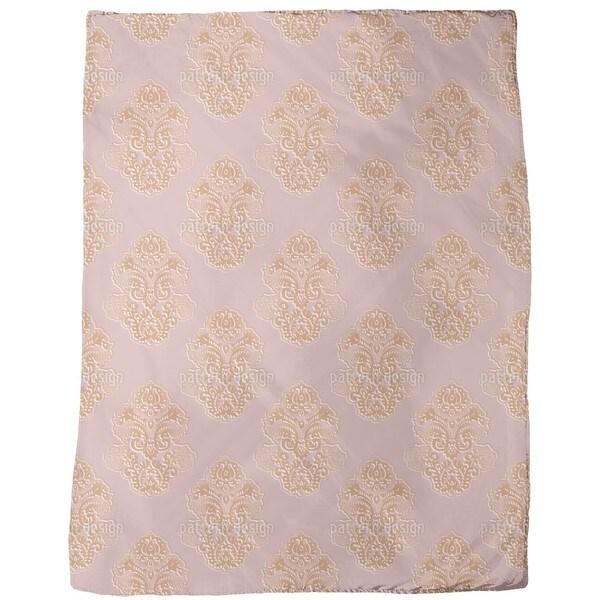 Silhouette Baroque Fleece Blanket
