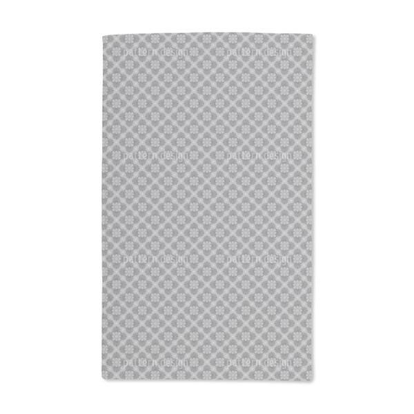Bloom Grey Hand Towel (Set of 2)