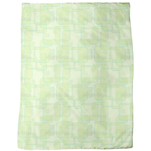 Square Theories Fleece Blanket