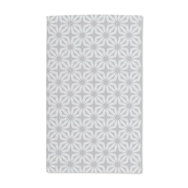 Stella Silver Hand Towel (Set of 2)