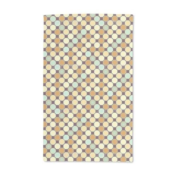 Hexagon Deco Hand Towel (Set of 2)