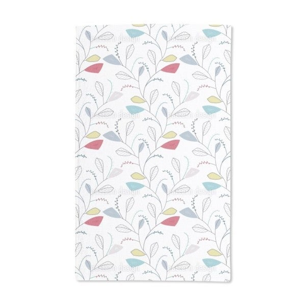 Leaf Traces of Spring Hand Towel (Set of 2)
