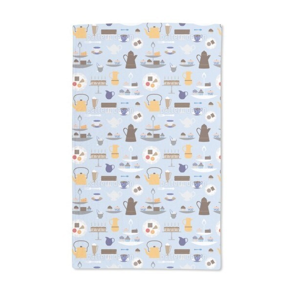 Coffee With Cream Hand Towel (Set of 2)
