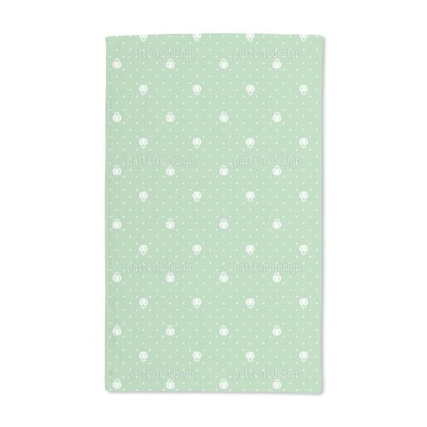 Fruits on Green Hand Towel (Set of 2)