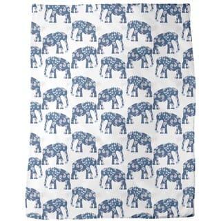 Patchwork Elephant Fleece Blanket|https://ak1.ostkcdn.com/images/products/12618694/P19412368.jpg?impolicy=medium