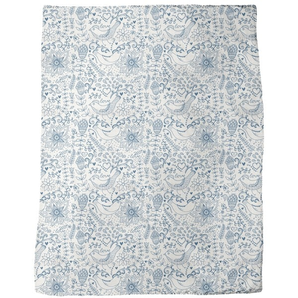Notebook Fantasies Fleece Blanket