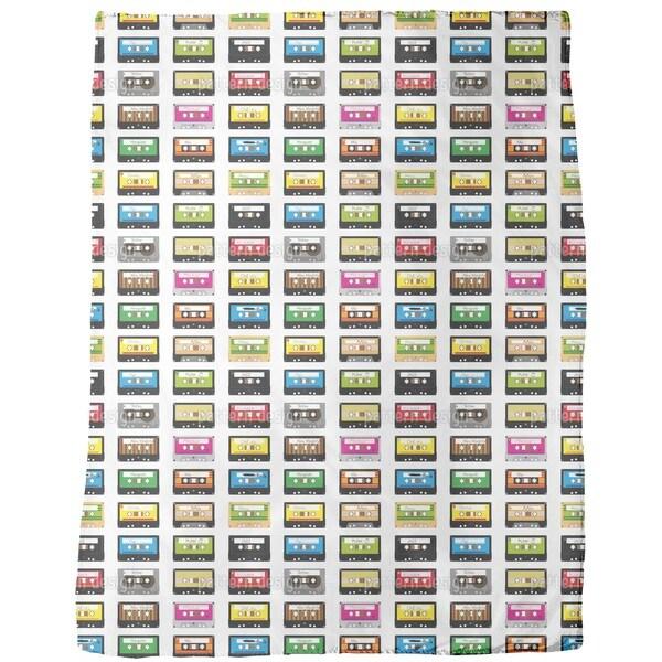 Mixtapes Fleece Blanket