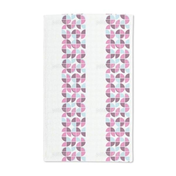 Retropolos Pink Hand Towel (Set of 2)