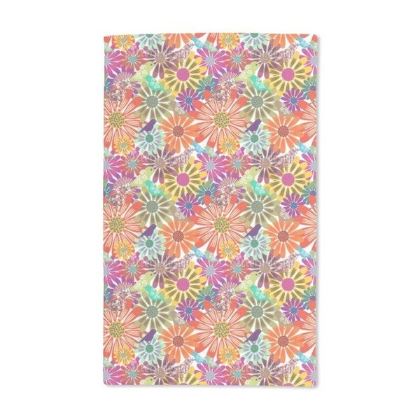 Brazil Floral Hand Towel (Set of 2)