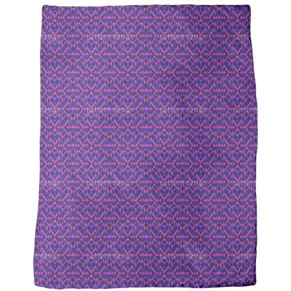 Ultra Geo Symmetry Fleece Blanket