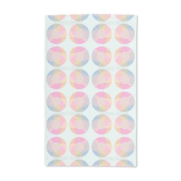 Circle Grid Hand Towel (Set of 2)