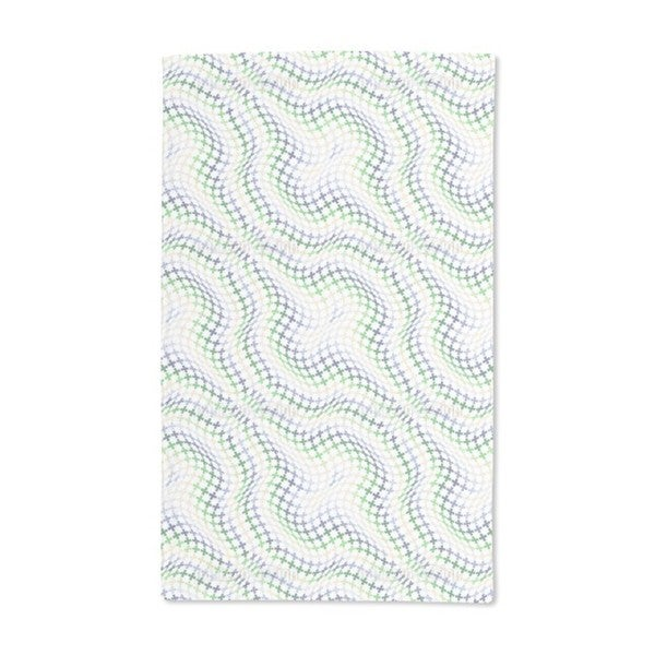 Swell of Crosses Hand Towel (Set of 2)