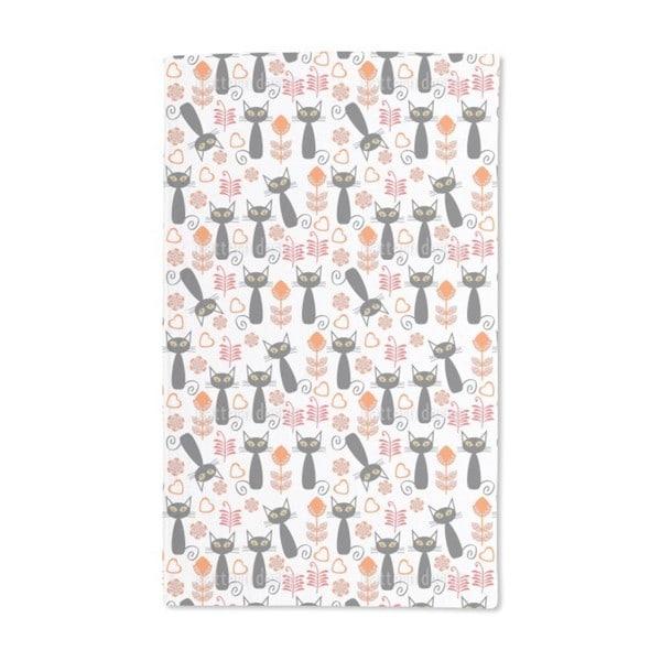 Cats in the Meadow Hand Towel